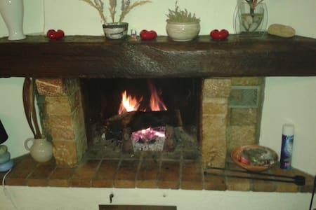 En montagne, 2 pièces cosy avec superbe cheminée