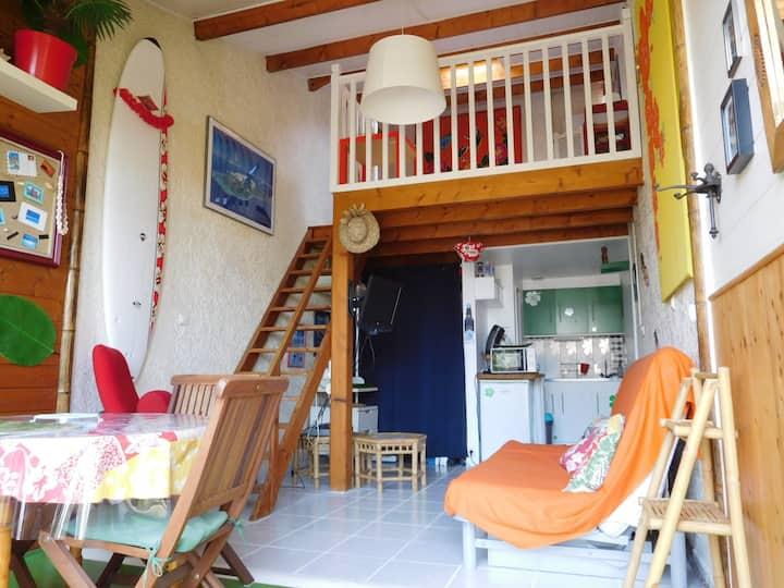 Le pavillon tahitien Talmont saint Hilaire Vendée