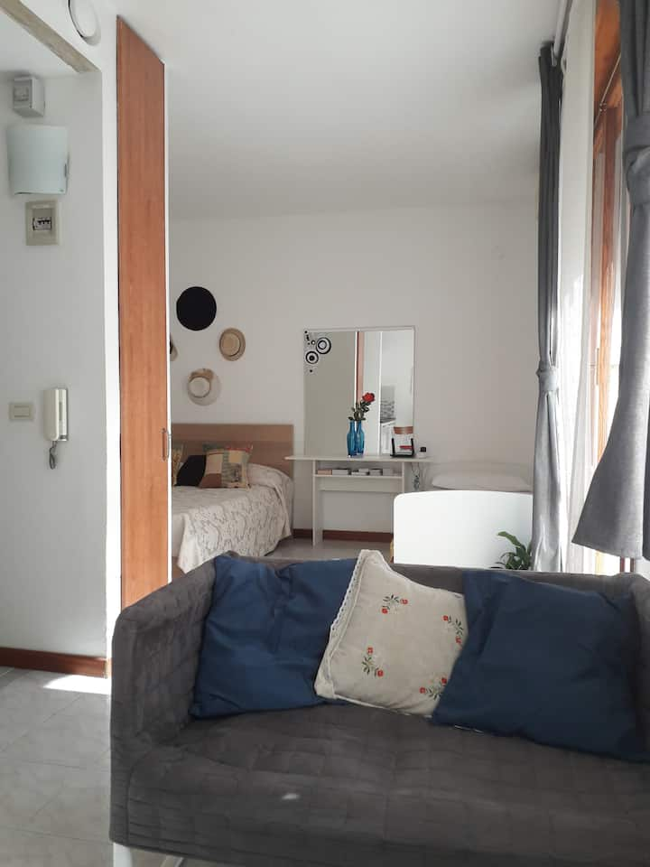 Liola,cozy flat near Venice with free car parking