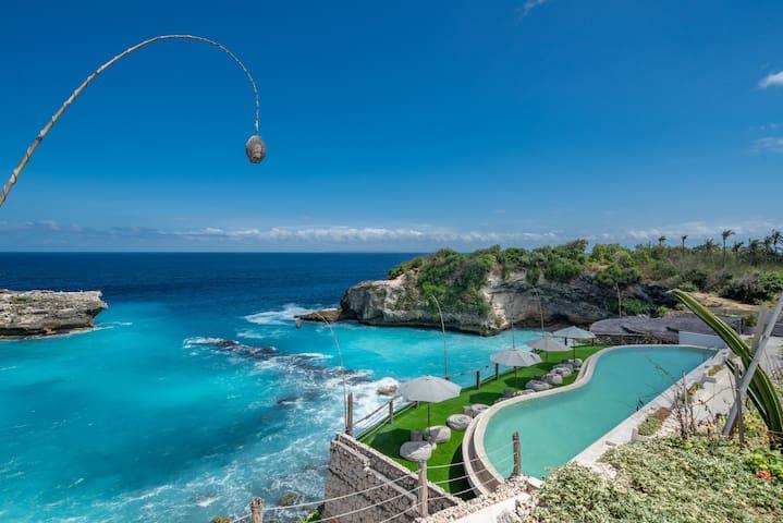 Villa Klyfokoko - 2 bdr - Amazing Blue Lagoon view