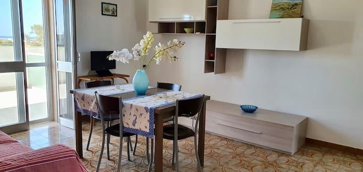 Appartamento Margherita in Villa vista mare