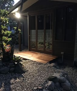 Flat entrance - well lit