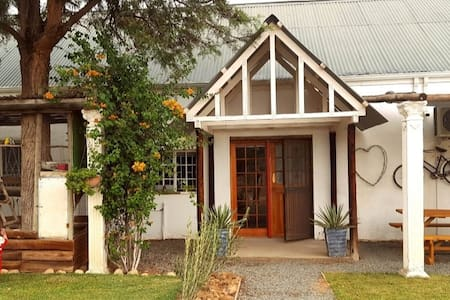 Entrance to Lentelus Cottage
