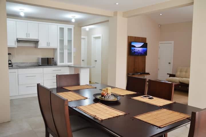 Departamento completo y privado - 3 habitaciones