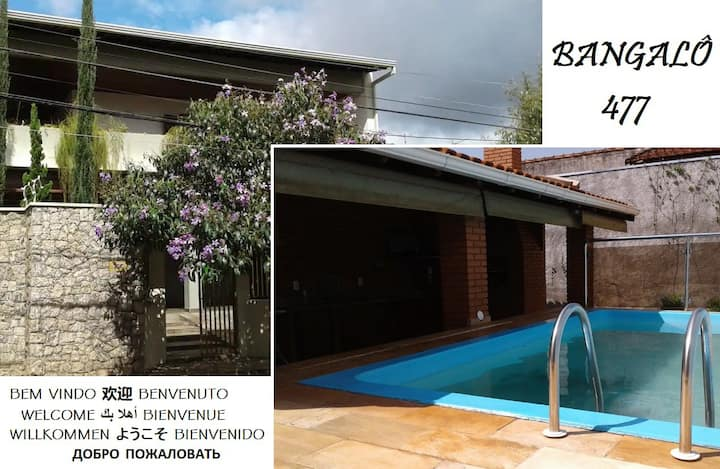 477Bungalow in Araraquara/SP/BR