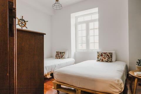 Jaca Hostel | Twin Room