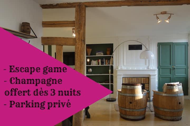 Escap'ade en Champagne (envie de jouer ?)