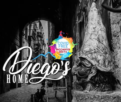 Diego's Home -Historical Center- Vaccinated Hosts