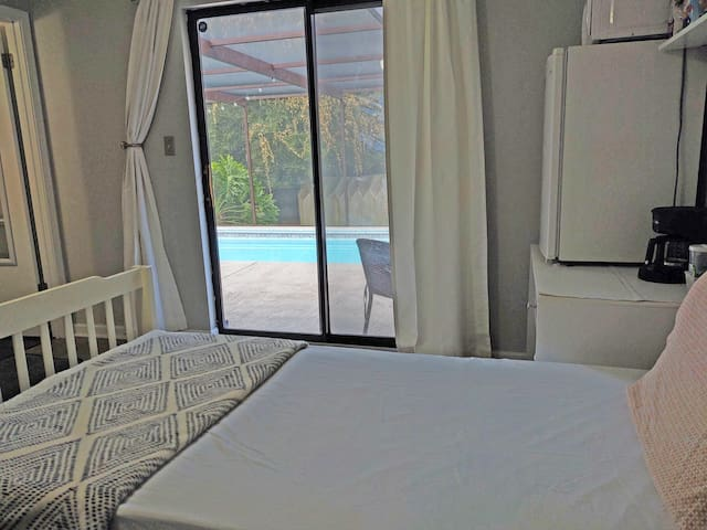 Private Studio & Bath with Private Entry by I-10