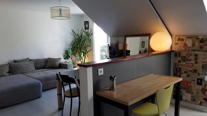 Appartement 10 min. du centre ville Rennes