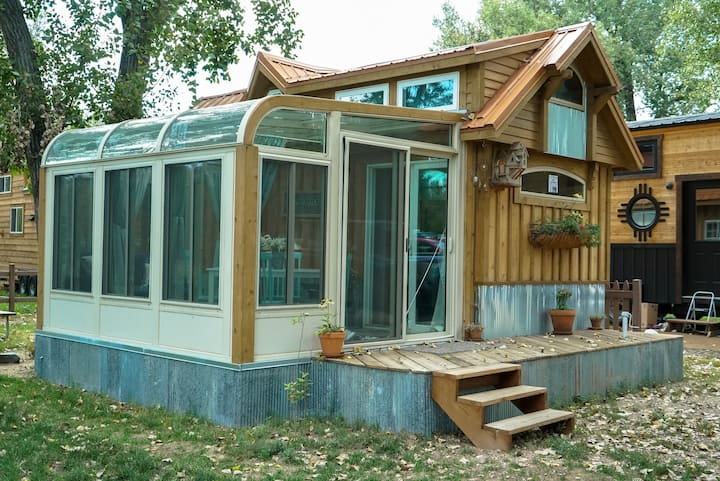 Tiny Home with a Sunroom