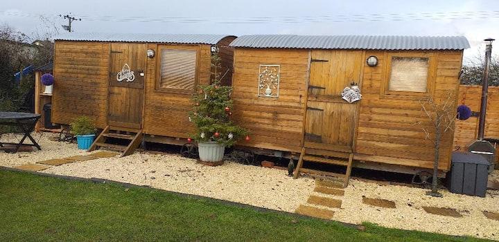 Raglan Shepherd Huts - the couples retreat