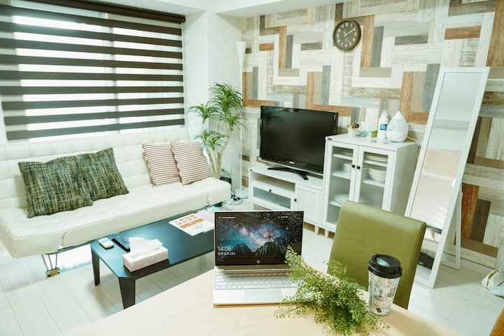 BT303 Cozy room in Sapporo welcome couple/business