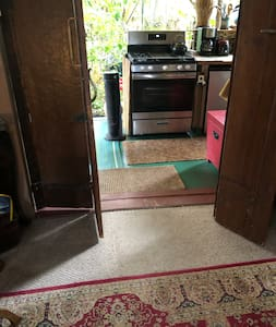 Entrance from front Lanai and kitchen