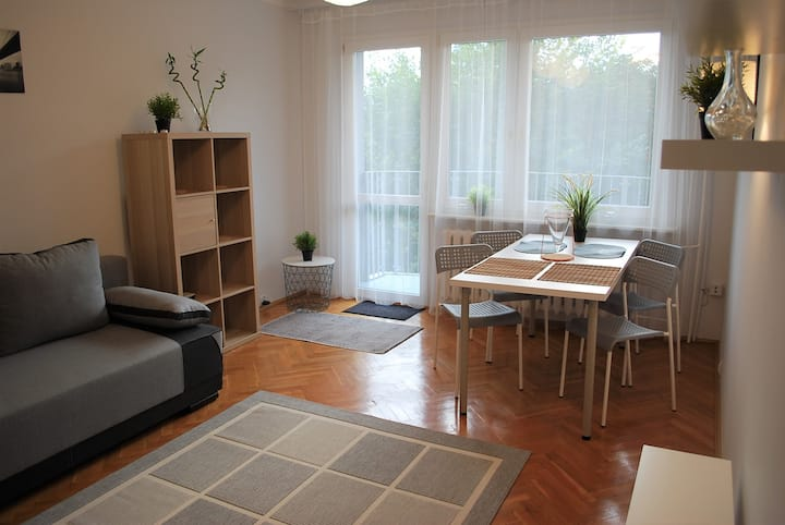 Apartament Wiosenny Kłodzko 50m2/sqm ENG/DE/FR/ESP