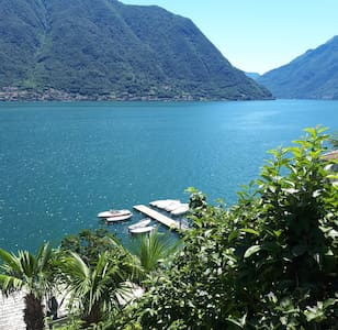 Ca' Bianca - front lake Como and private parking