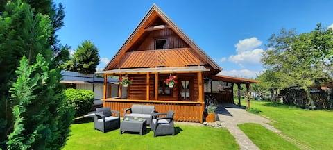 Stylish wooden Cottage at Urban´s Fam. Lubela