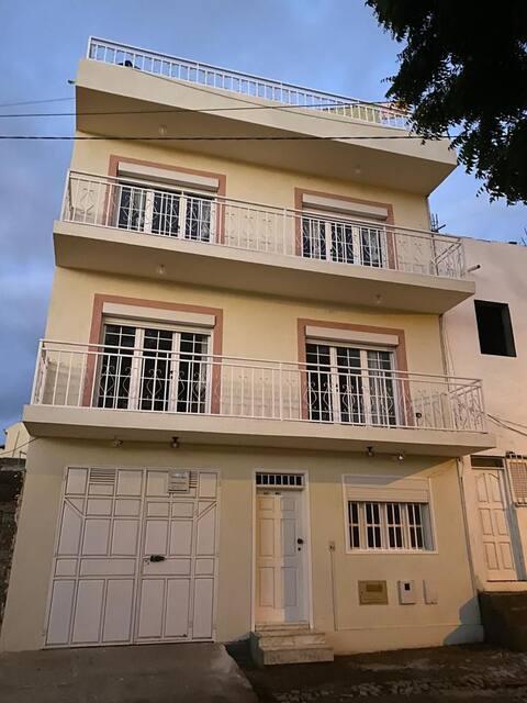 Maison familiale à Tarrafal.