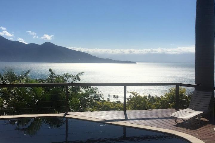 Casa Siriúba - Vista Magnífica   - Norte da Ilha -
