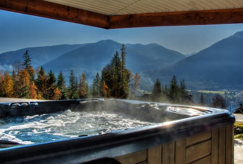 Mountain View Retreat;  Entire Suite with Hot tub!