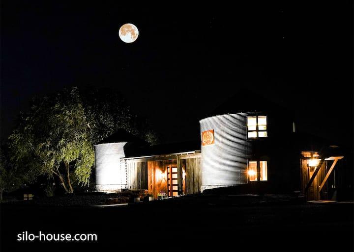 Silo House, A unique architecturally designed home