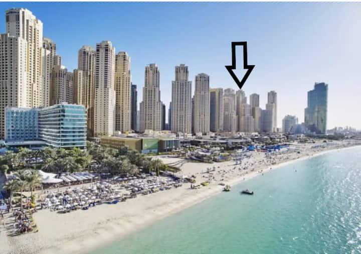 ON THE BEACH: elegant room in modern seaview flat
