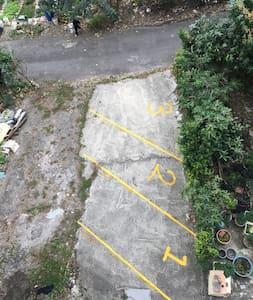 장애인용 주차 공간