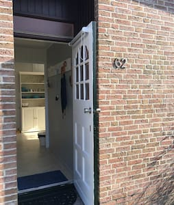 Pintu masuk yang luas untuk tetamu