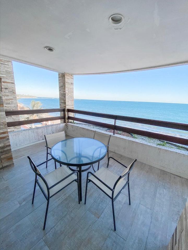 Apartamento Beira Mar 88m2 - Praia de Ipioca - AL