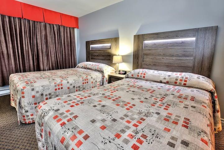 Standard Room - 2 Double Beds