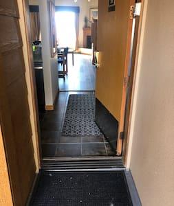 Entrance into unit