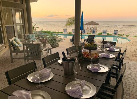 Windsong ***Beachfront w/Private Dock/50ft Pool***