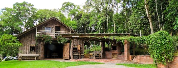 Rancho do Lucas - Cabana a 5 min do centro de SBS