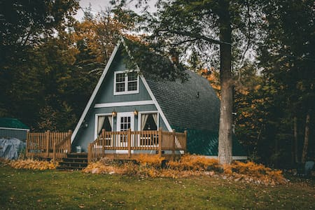 Boho A-Frame Escape near Hiking, Nature + Dining