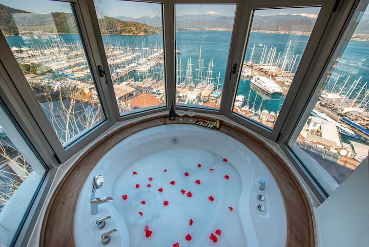 Casa Margot Hotel - Adult Only - Deluxe Room with Hot Tub and Sea View