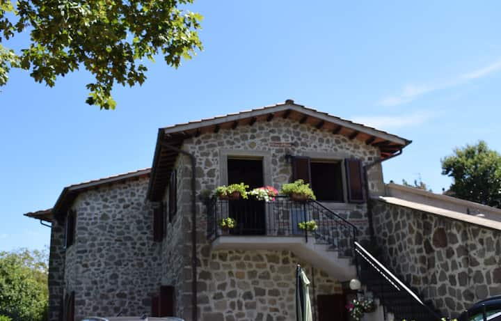House with view - Val D'Orcia Holiday Home.