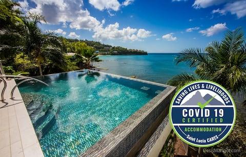Ocean Front Villa with Infinity Pool