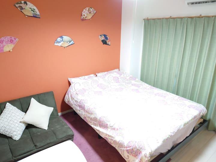 #A NewOpen Umeda st 8 min☆Popular area☆FreeWiFi