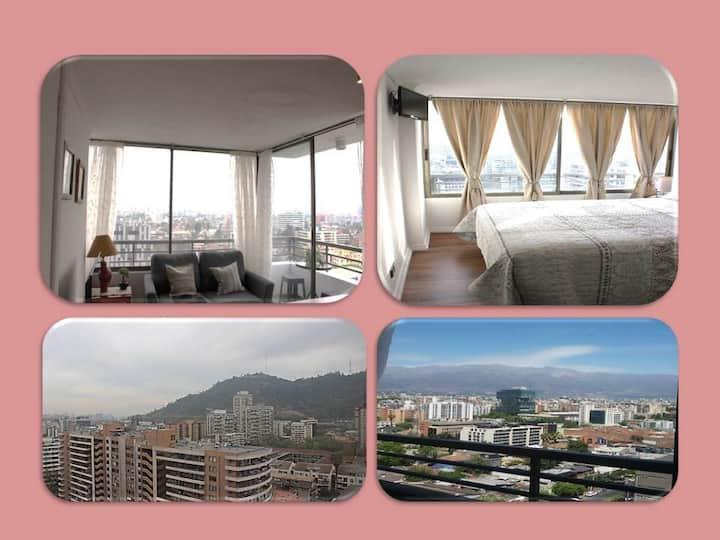Excelente vista y moderno Apartamento