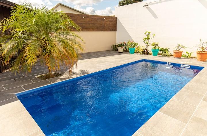 Villa avec piscine à St Pierre