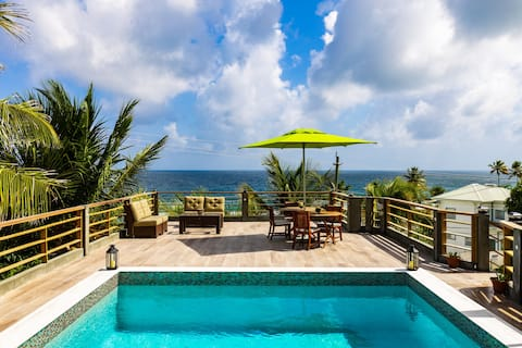 Villa vivante de l'île d'Atma