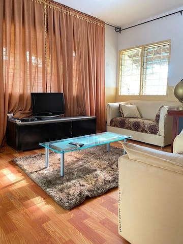 Spacious furnished villa, at Cité Houéyiho Cotonou