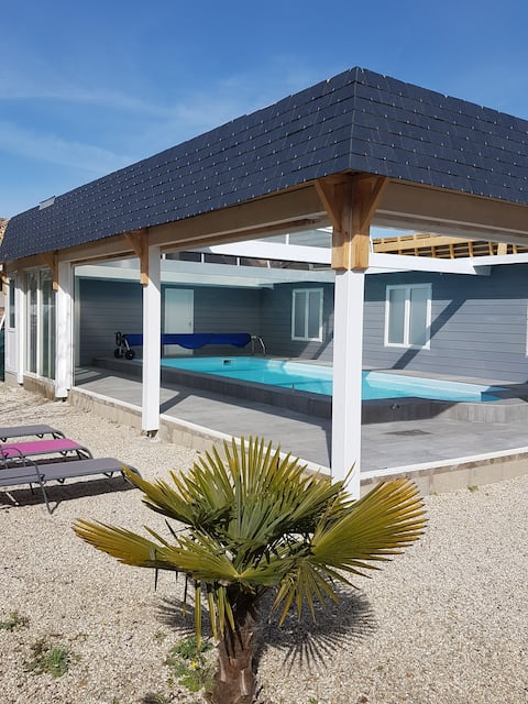 """Gîte """"La Bergerie"""" 9 personnes avec piscine"""