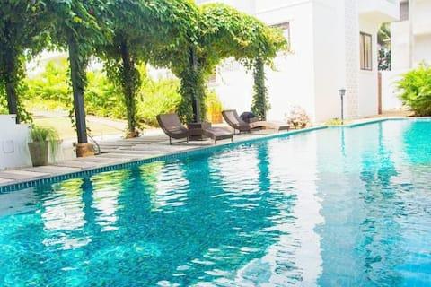 Luxury,Boutique,Art Deco,2bhk Apartment,Candolim