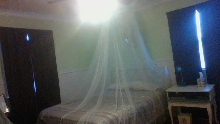 2nd Bedroom, Green Bedroom