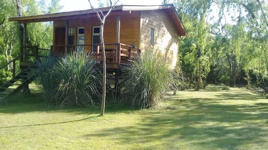 "Cabin in the Tigre Islands "" The Susanita"""
