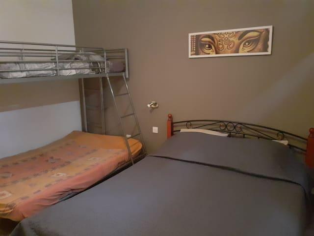 Maison d'hôte la Re'Belle chambre Sol Air à Céret