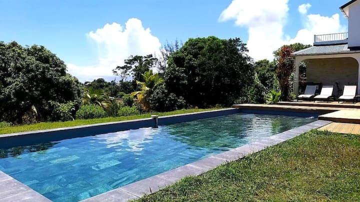 Villa C avec Piscine vue mer 7 couchages Clim/WIFI