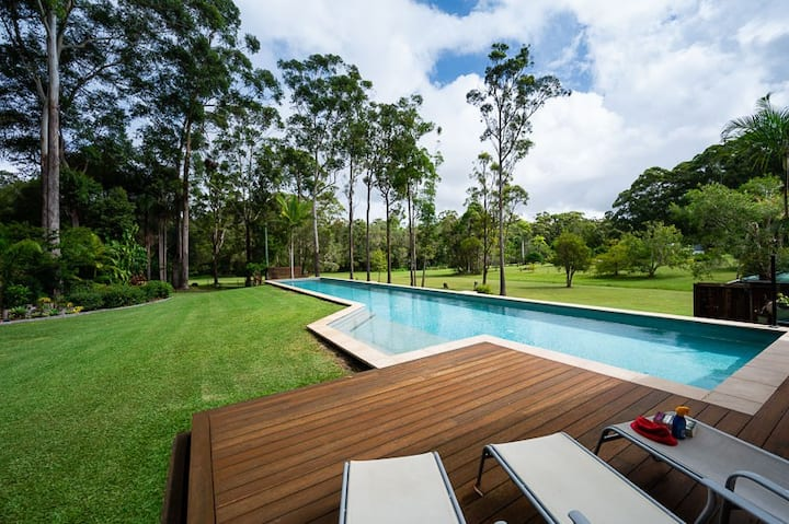 Own 25M Pool, In/Outdoor Fire, A/C - Noosa Country
