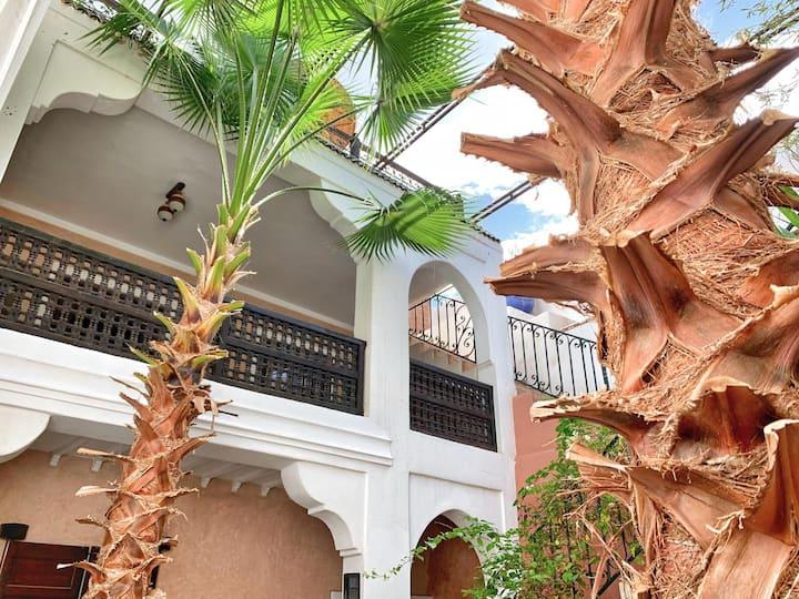 2# The cosy nest @Riad Rockech